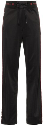 Givenchy side-stripe logo track pants
