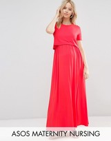 ASOS Maternity - Nursing ASOS Maternity NURSING Double Layer Maxi Dress