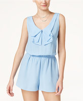 Be Bop Juniors' Bow-Collar Romper