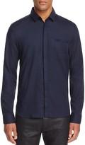 HUGO Eavel Welt Pocket Slim Fit Button Down Shirt