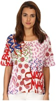 Paul Smith Zigzag/Shapes Loose Top