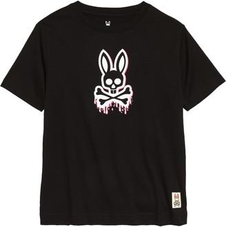 Psycho Bunny Kids' Portland Graphic Tee