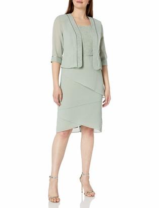 Le Bos Women's Dress and Jacket Set