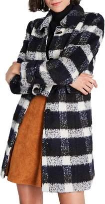 ModCloth Ladylike Lately Plaid Coat