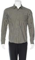 Rag & Bone Gingham Print Woven Shirt
