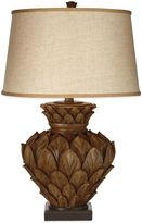 Bed Bath & Beyond Artichoke Square Base Table Lamp in Brown