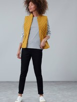 Joules Striped Harbour Top - Navy Cream