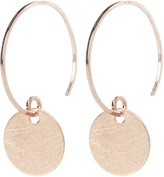 Isabella Oliver By Boe Rose Gold Coin Earrings