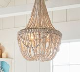 Pottery Barn Francesca Beaded Chandelier