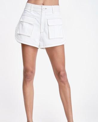 Express Emory Park Front Pocket Woven Shorts