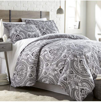 Pure Melody Classic Paisley Duvet Cover and Sham Set Bedding