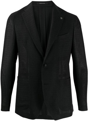 Tagliatore Single-Breasted Fitted Blazer