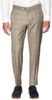 Houston Super 150s Plaid Trousers