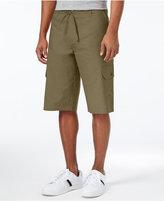 Sean John Men's Lightweight Linen Cargo Shorts