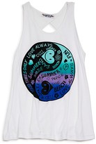 Flowers by Zoe Girls' Yin & Yang Tank - Sizes S-XL
