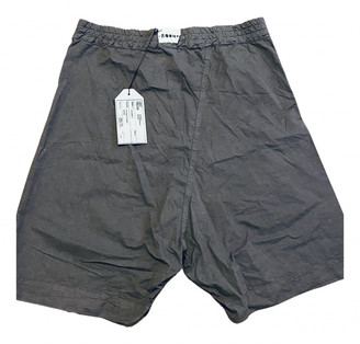 Lost & Found Ria Dunn Green Cotton Shorts