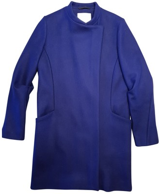 Surface to Air Purple Wool Coats