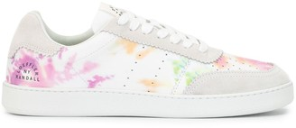 Loeffler Randall Kelly tie-dye low-top sneakers
