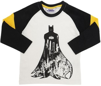 Batman Print Cotton Jersey T-Shirt