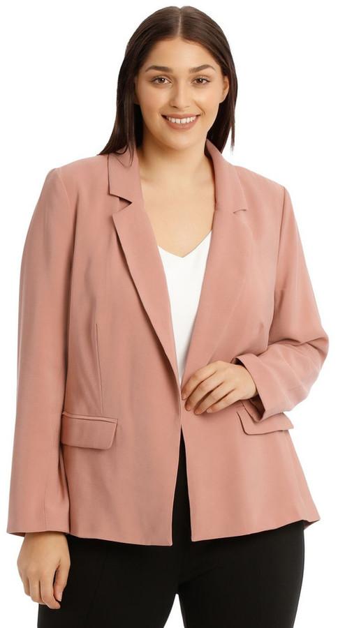 Basque Soft Drapy Jacket