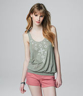 Aeropostale Womens Cape Juby Embroidered Tank Shirt