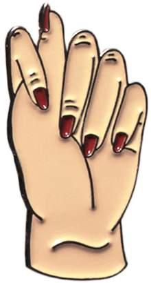 Make Heads Turn Enamel Pin Fig Sign