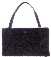 Kate Spade Faux Broadtail Handle Bag