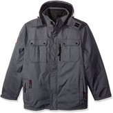 Canada Weather Gear Men's Big and Tall Soft Shell Systems Jacket for Sizes