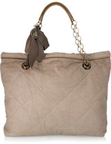 Lanvin The Amalia quilted leather tote