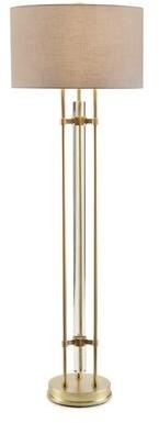 "John-Richard Collection Glass Rod 64"" Gloor Lamp"