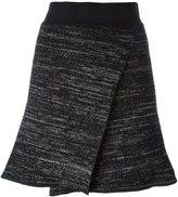 Isabel Marant cross front knit skirt - women - Linen/Flax/Polyamide/Spandex/Elastane/Wool - 36