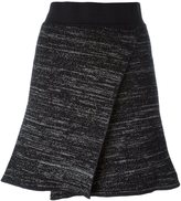 Isabel Marant cross front knit skirt