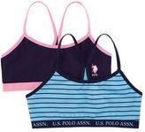 U.S. Polo Assn. Girls 2-pc. Bralette-Big Kid