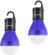 Wakeman Outdoors 2-pack Portable LED Tent Light Bulbs