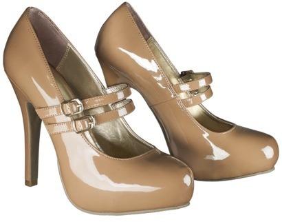 Mossimo Women's Kaitlynn Double Strap MaryJane Pump - Camel