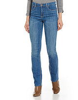 Jones New York Lexington Stretch Denim Straight-Leg Jeans