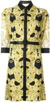 Versace Baroque belted dress