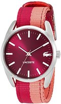 Lacoste Women's 2000926 Malaga Analog Display Japanese Quartz Pink Watch
