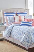 southern tide coastal ikat comforter sham u0026 bed skirt set