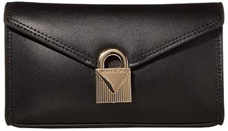 MICHAEL Michael Kors Mercer Lock Belt Bag (Black) Women's Belts
