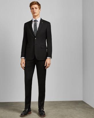 Ted Baker Debonair Plain Wool Slim Fit Trousers