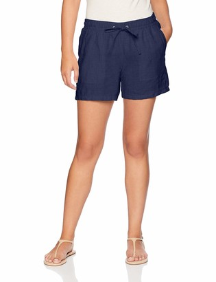 "Amazon Essentials Women's 5"" Drawstring Linen Short"