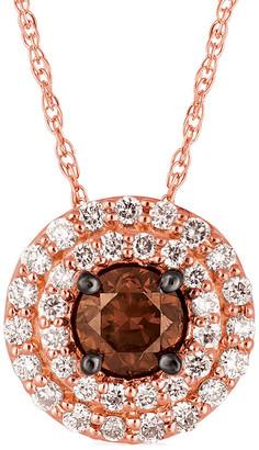 LeVian Le Vian 14K Rose Gold 0.51 Ct. Tw. Diamond Pendant