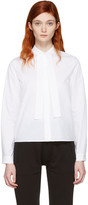 MM6 MAISON MARGIELA White Tie Collar Shirt