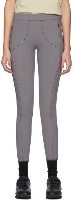 A-Cold-Wall* A Cold Wall* Grey Piping Leggings