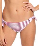 Roxy Women's Bikini Bottoms Bright - Bright White Chasing Love Mini Bikini Bottoms - Women