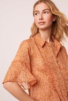 French Connenction Alving Lawn Pintuck Shirt