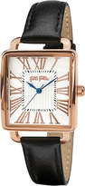 Folli Follie Rose gold-plated square watch