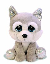 Suki Gifts Lil Peepers Fun Aspen Husky Dog Plush Toy with Silver Sparkle Accents (Medium, Grey/White) by Suki Gifts