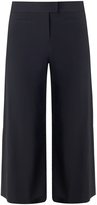 Veronica Beard Lee Cropped Wide Leg Pant